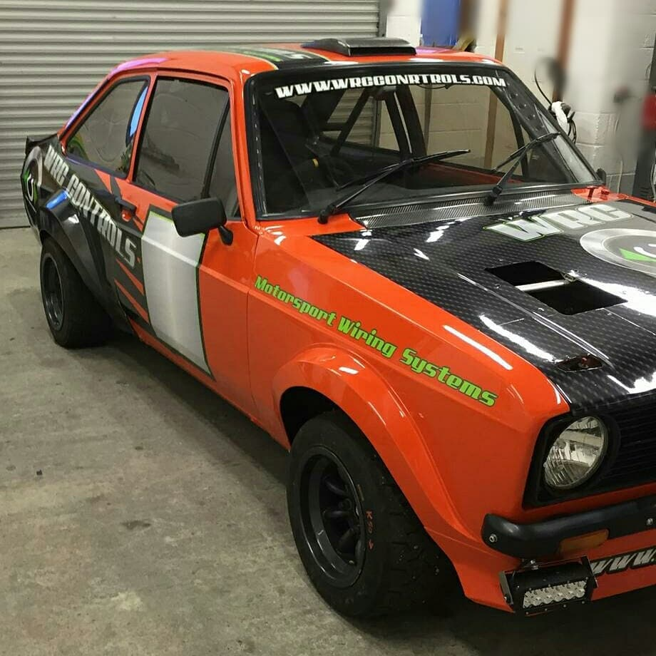 Ready for racing! Wraps and Stickers! Escort